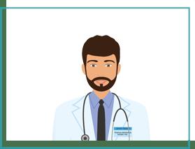 grafika mężczyzna lekarz